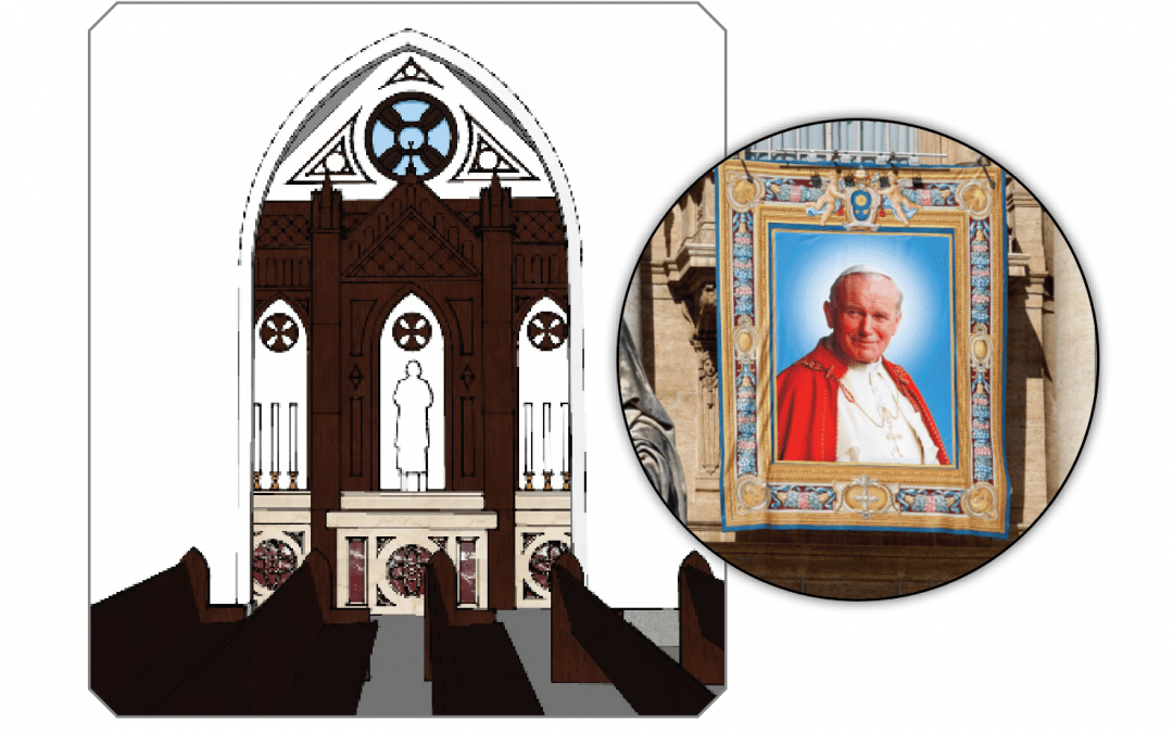 Side Chapel to be Dedicated to Saint John Paul the Great