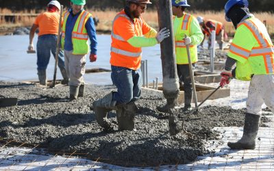 Concrete Pouring Complete | November 2019