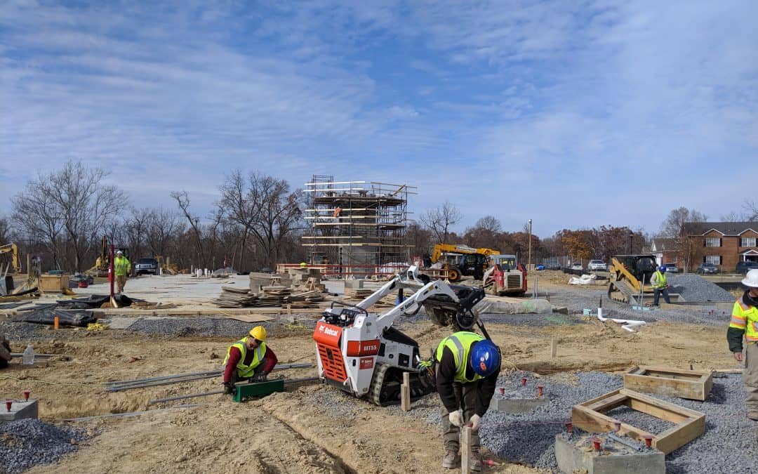 Construction Crews Prepare for Final Concrete Pour