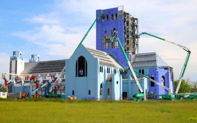 New Chapel Construction Photo