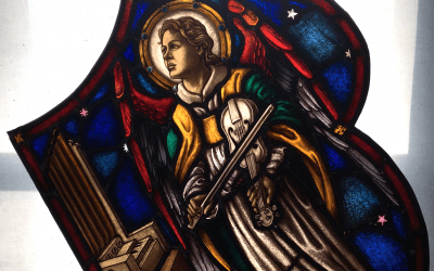 First Look at Music Angel from Rose Window